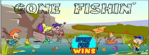 Gone Fishin Banner