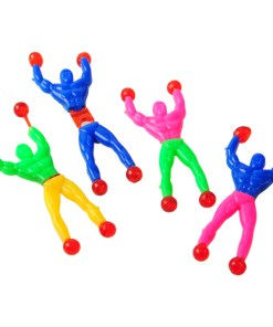 Sticky and Stretchy Muscle Man Wall Climbers Carnival Prize
