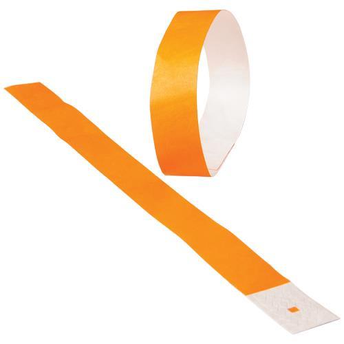 Wrist Band Orange