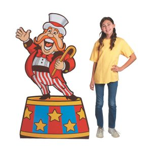 Ringmaster Cardboard Stand-Up