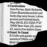 Carnivalism Update 08.05.03