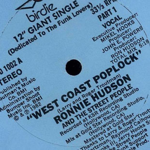 Carnivalism Fridays No. 93 – Ronnie Hudson & The Street People - West Coast Poplock