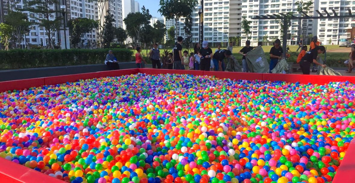 Giant Ball Pit Rental Singapore 1