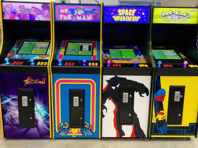 Retro Video Arcade Rental Singapore