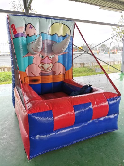 Bull Horn Inflatable Game Rental