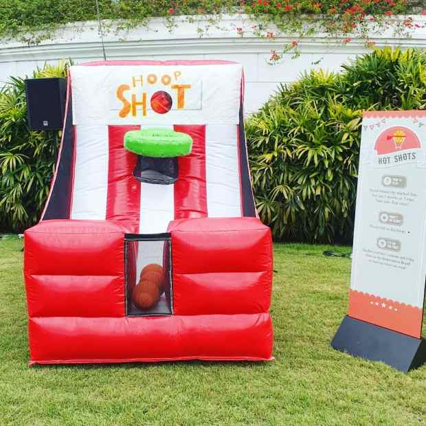 Inflatable Hoop Shot Carnival Game Singapore