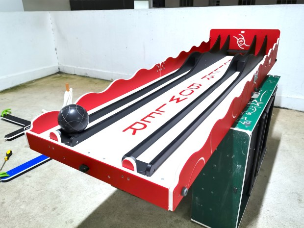 Roller Bowler Carnival Game Booth Rental
