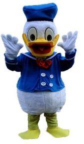Cartoon-Duck-Mascot-Costume-Rental