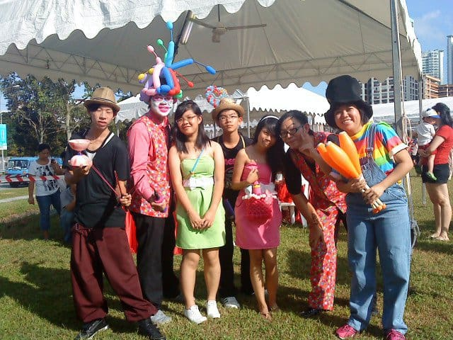 Juggler services for events Singapore