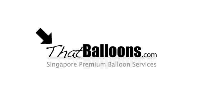 that balloons logo banner