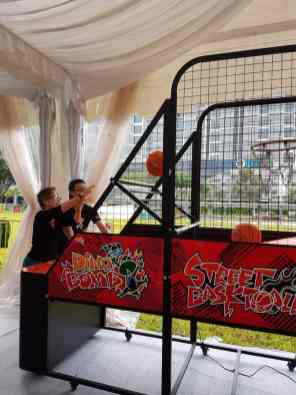 Basketball machine for event Singapore
