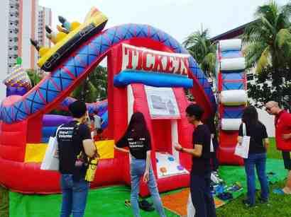 Amusement Theme Park Bouncy Castle