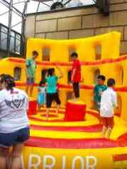 Colousseum Warrior Inflatable Game Singapore