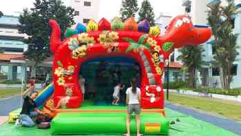 Dinosaur Bouncy Castle Rental