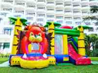 Lion Kingdom Bouncing Castle for Rent