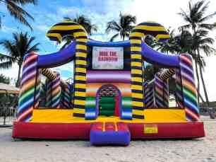 Rent Candy Bouncy Castle Singapore