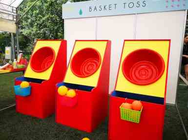 Basket Ball Toss Game Rental