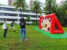 Inflatable soccer Game for Rent
