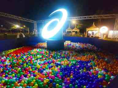 Giant Ball Pit set up Singapore