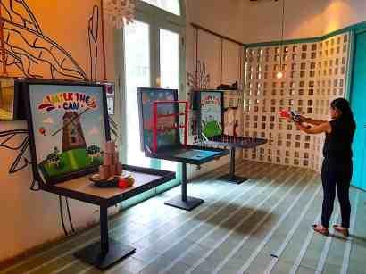 Carnival Box Game Stalls
