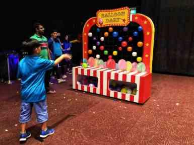 Fun Fair Game Booth Balloon Dart For Rent