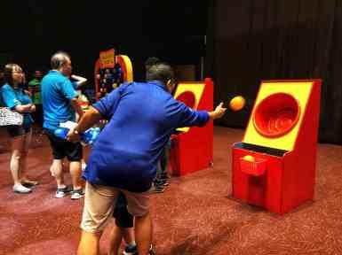 Fun Fair Game Booth Basket Toss For Rent