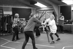 Henry IV Battle Rehearsals