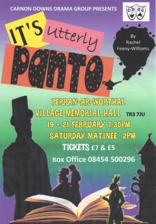 Utterly Panto 2015 Poster