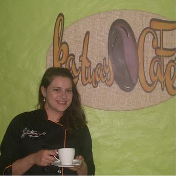 Valentina Carosi hermosa Barista nacida y criada en la finca Los Nonnos.