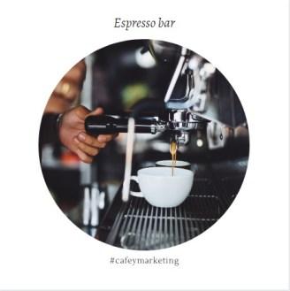 Preparación de un espresso