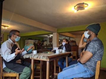 Experiencia en la cafetería - turismo y café