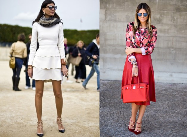 1_Giovanna_Battaglia_Valentino_Rockstud_kitten_heel_Dress_Like_Your_Muse