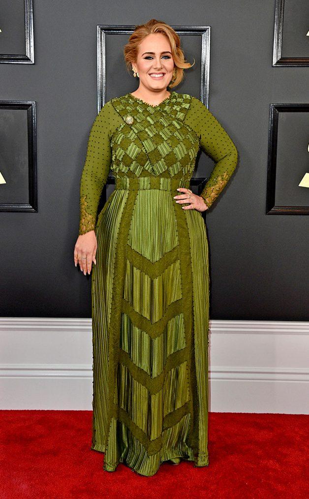 Look da Adele no Grammy Awards 2017
