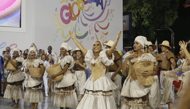 O carnaval de Ivete Sangalo na Grande Rio