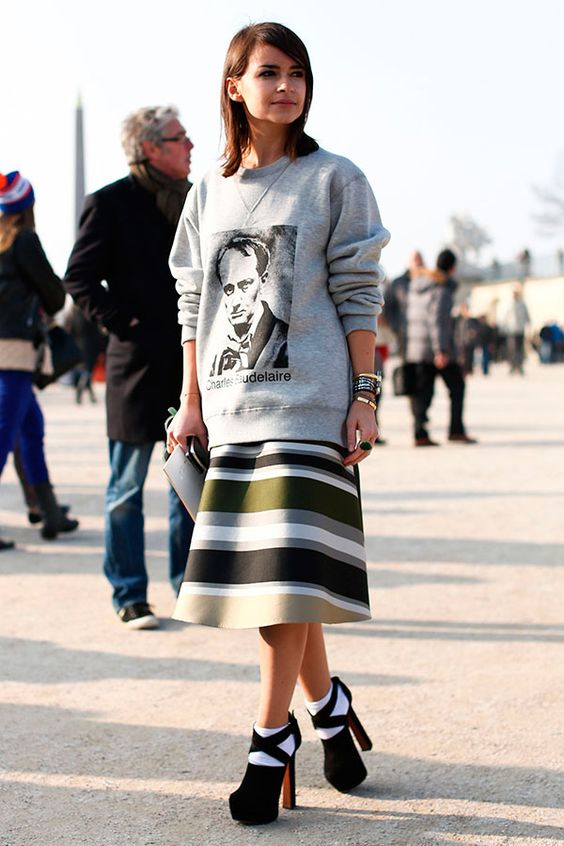 street style look com moletom 5