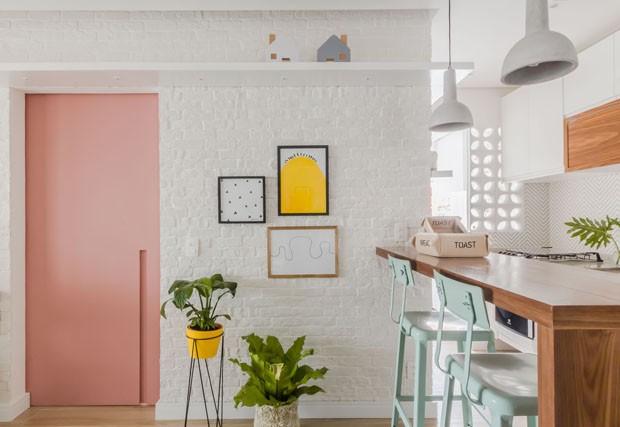 apartamento pequeno e charmoso
