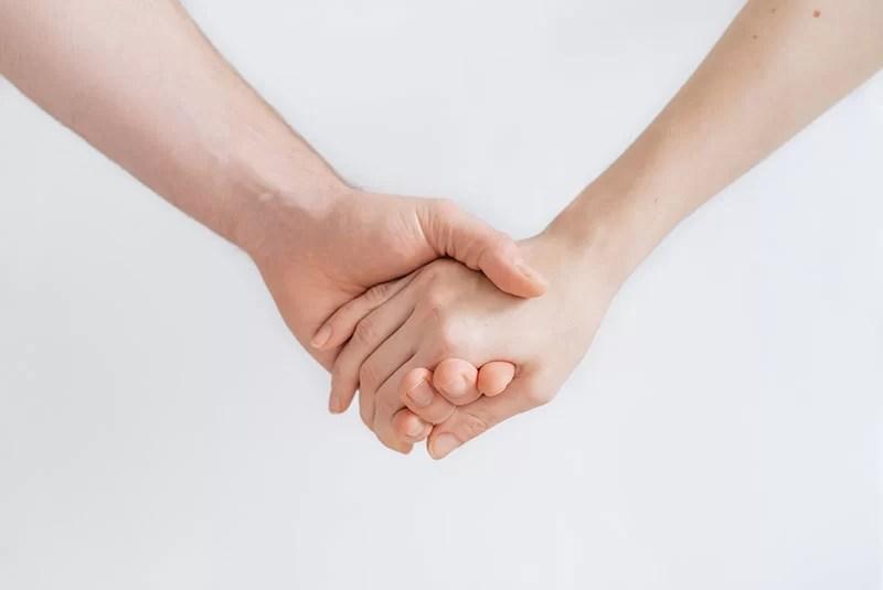 counseling mani che si stringono