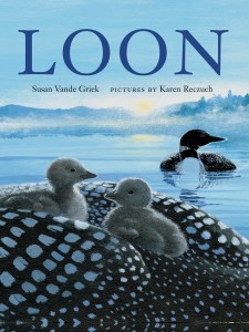 cover image from the children's picture book Loon