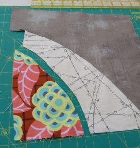 Making improv curved block