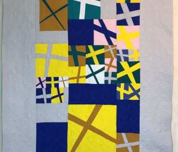 MQG Virtual Charity Quilt #2 made for QuiltCon Charity Challenge