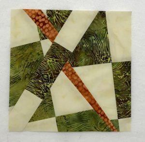 fractured 9 patch, modern traditionalism, improvisational piecing