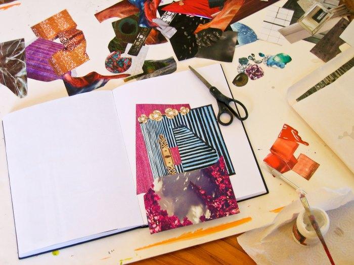 Carole Silverstein Collage Studio