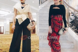 National Day, Philippines, Philippine National Day, Filipiniana, Modern Filipiniana, Affordable Filipiniana, Mix and Match, Modern, Fashion, Tribal, OOTD, T'nalak, T'boli, Ditta Sandico Ong, Wrap, Ditta Sandico Wrap, Mariposa, Filipiniana Wrap,