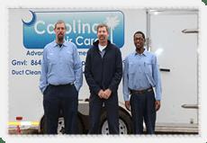 Crew at Carolina Air Care Greenville Spartanburg SC