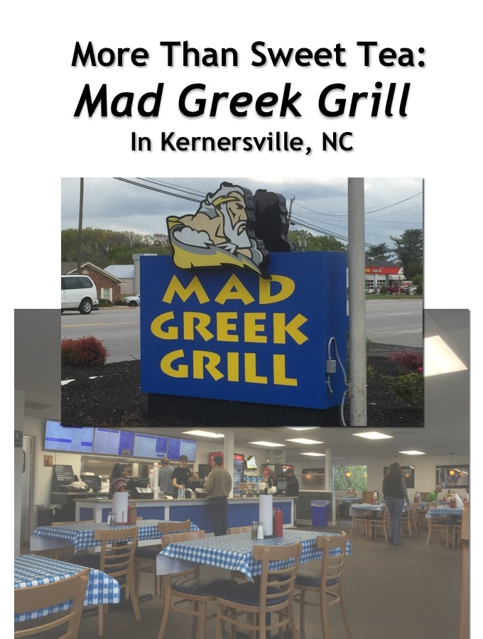 Mad Greek Grill in Kernersville, NC