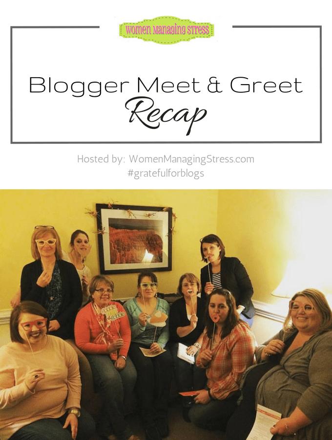 Blogger Meet and Greet - 11/18/2016