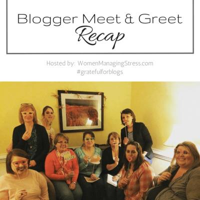 Blogger Meet and Greet – 11/18/2016
