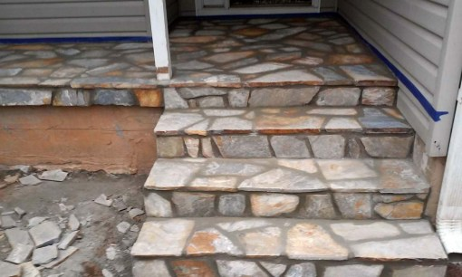 Slate Entry, Steps and Walkway
