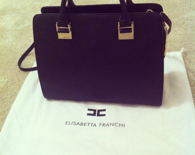 Borse di Elisabetta Franchi - Tote bag nera