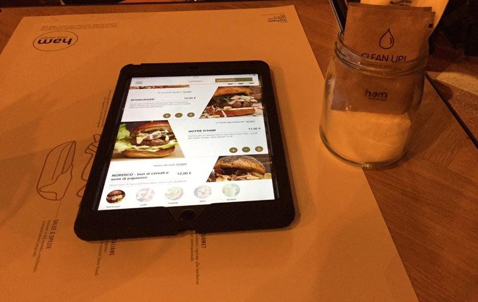 Ham Holy Burger - Febbraio 2016 - iPad